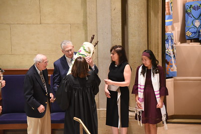 Elle at Temple Israel-  service photos- 2 of 2 galleries
