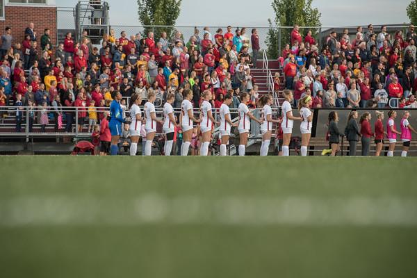 ISU Soccer vs Iowa 09/07/18