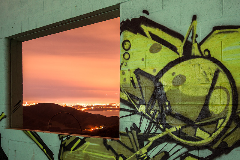 Picture in Picture  Hill 88, Golden Gate National Recreation Area