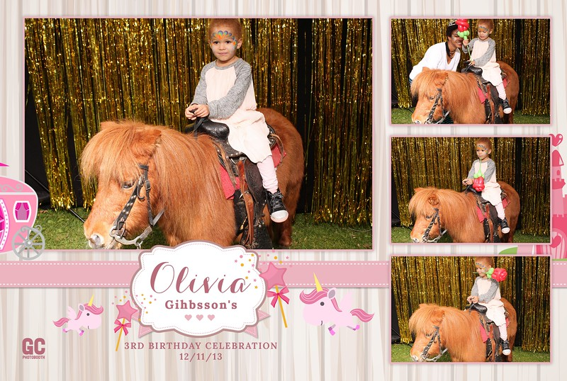 Olivia Gihbsson's 3rd Birthday