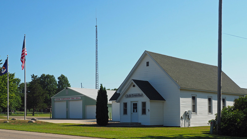 Clyde Township Hall and Fire Hall