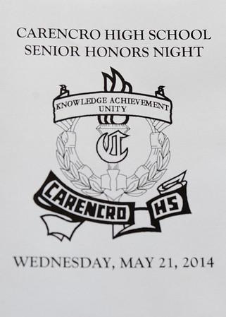 Brax Sr. Honors Night
