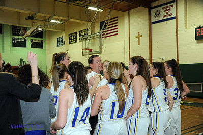 Girls Var Basketball 3-8-14 Catholic States Finalist