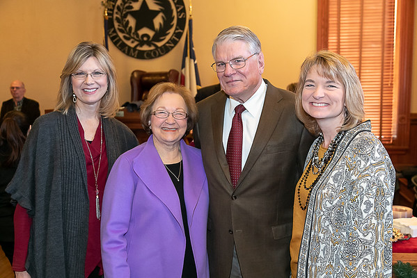 Milam County Judge Dave Barkemeyer Retirement 2018