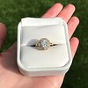 1.97ctw Antique Cluster Ring, GIA G SI2 19