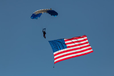 National Anthem with Boling Air Media Skydive Team