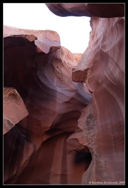 Antelope Canyon, Page, Arizona, September 2009