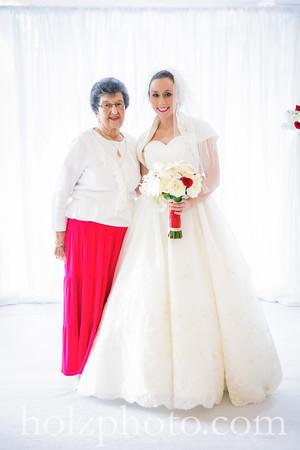 Lauren and Scott Color Wedding Photos
