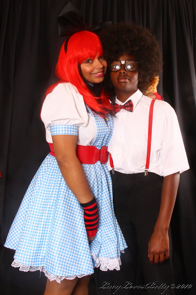 2010 - Dorothy and Urkel - Halloween