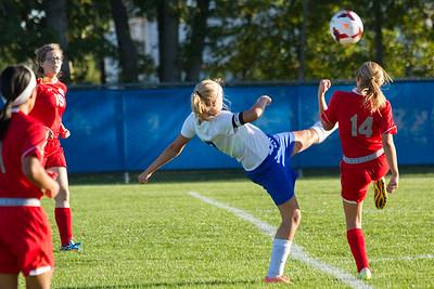 DHS Girls Soccer 09-25-2014