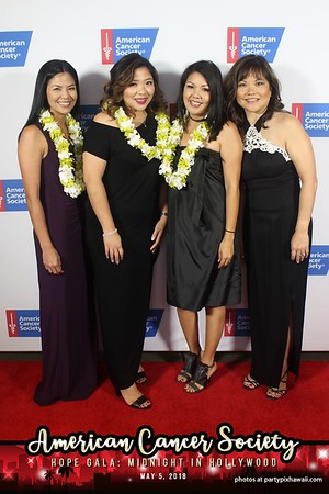 American Cancer Society Gala (Red Carpet)
