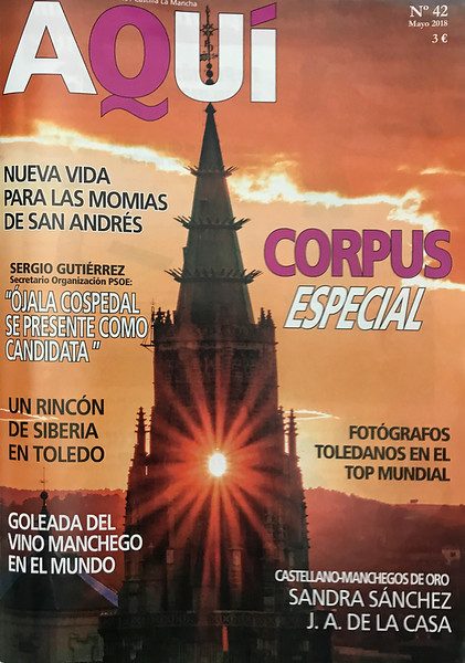 Revista AQUI - Fotográfos TOLEDANOS en el TOP MUNDIAL