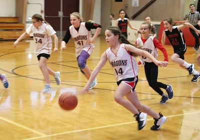 LS 5th Girls Basketball White vs St Thomas More 1-15-20