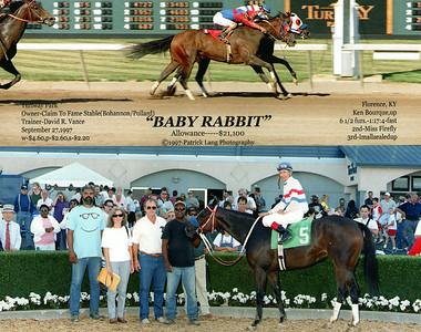 BABY RABBIT - 9/27/1997