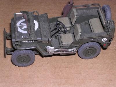 Willys Jeep Tamiya 32nd scale (LW)