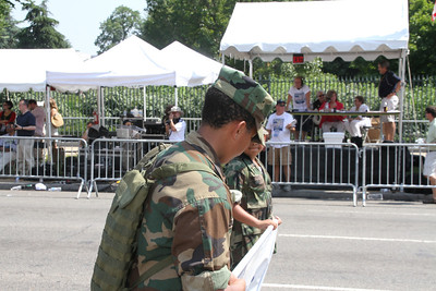NATIONAL MEMORIAL DAY PARADE - BATTLEFIELD YOUNG MARINES