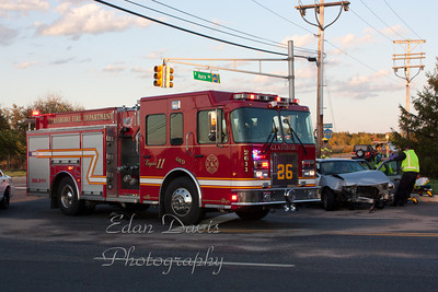 10-15-2011, MVC, Glassboro, Gloucester County, Ellis Mill Rd. and Aura Rd.