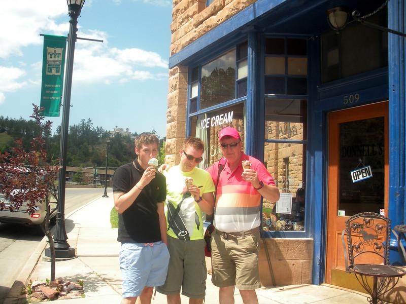 Hot Springs, Sourth Dakota.