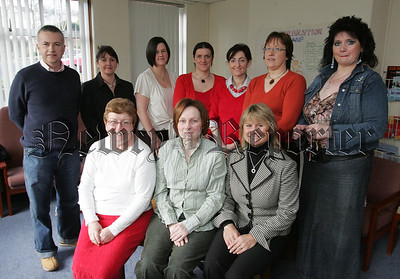 Members of the Newry and Mourne Health and Social services forum pictured at the Conifers resource centre Drumalane. 07W6N29