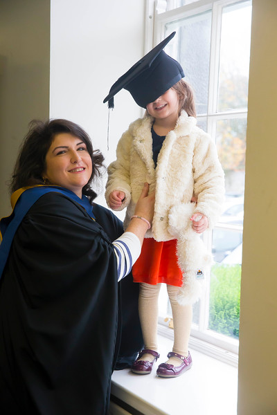30/10/2015. Waterford Institute of Technology Conferring. Pictured are Caroline Vasiliu from Wexford and her daughter Sandra. Picture: Patrick Browne