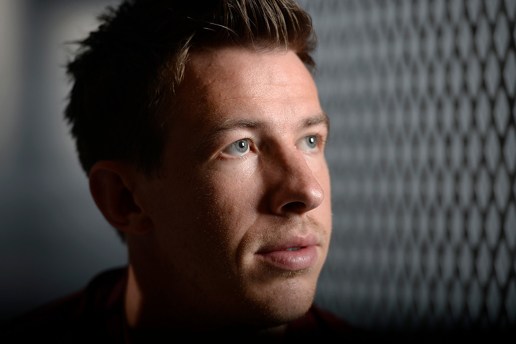 . COMMERCE CITY, CO - FEBRUARY 11: Sean St. Ledger poses for a portrait during Colorado Rapids media day on Thursday, February 11, 2016. (Photo by AAron Ontiveroz/The Denver Post)