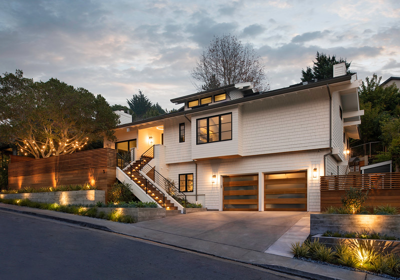 Mill Valley Modern Exterior 2