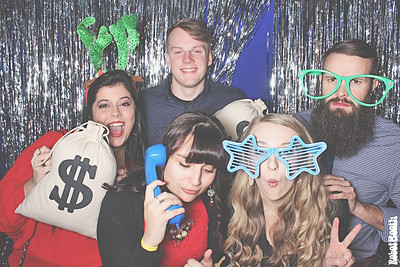 12-14-19 Atlanta The Ivy Buckhead Photo Booth - Q-Squared Holiday Party - Robot Booth