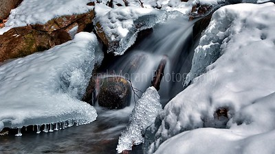 Frozen Glen Onoko Falls Jim Thorpe PA