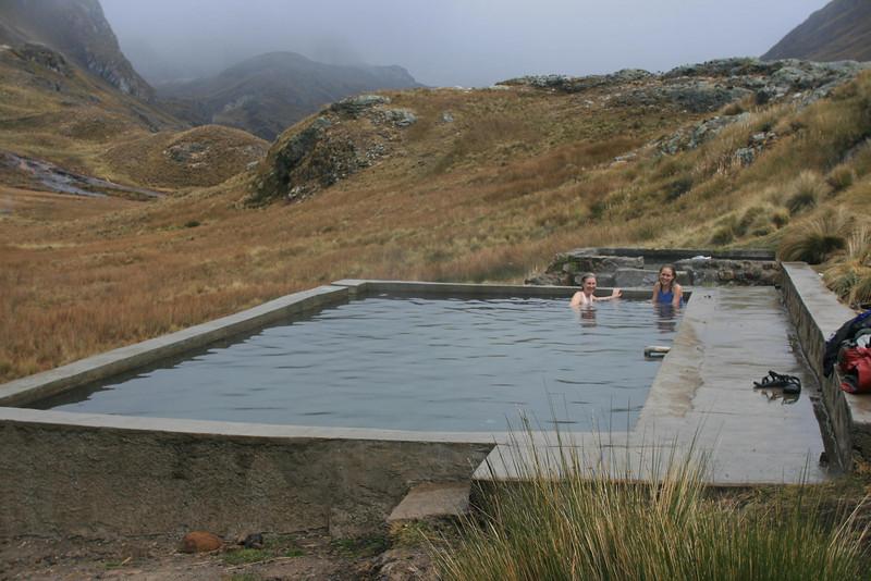 Rio Pumarinri Hot Springs: Wonderful!
