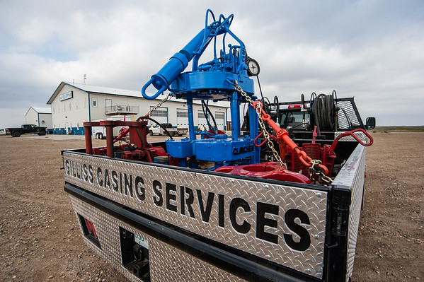 Gilliss Casing Services Truck
