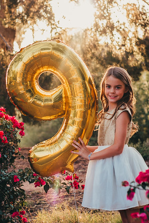 Araya's Golden 9th Birthday