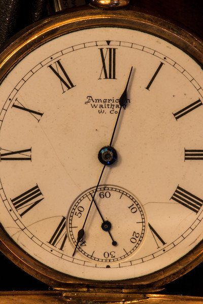 This American Waltham watch was manufactured in 1888.  It has an inscribed with the date Oct 2nd, 1890.