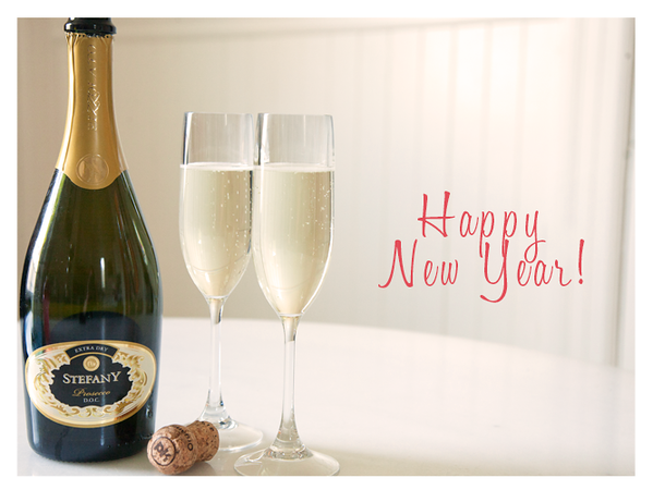 Ringing in the New Year with Stefany Prosecco