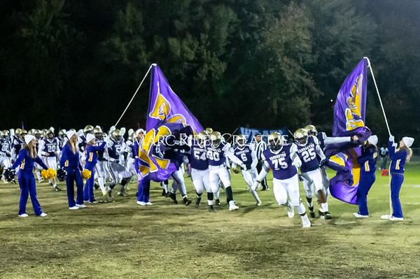 Broughton football vs Millbrook. Senior night. November 8, 2019. D4S_7360