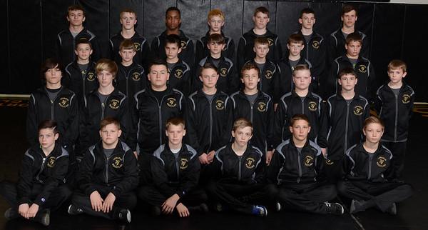 Wrestling - Stingers State Team 2016
