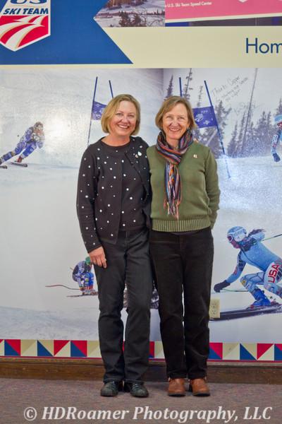 Marcia Spenst with Rebecca Pearson