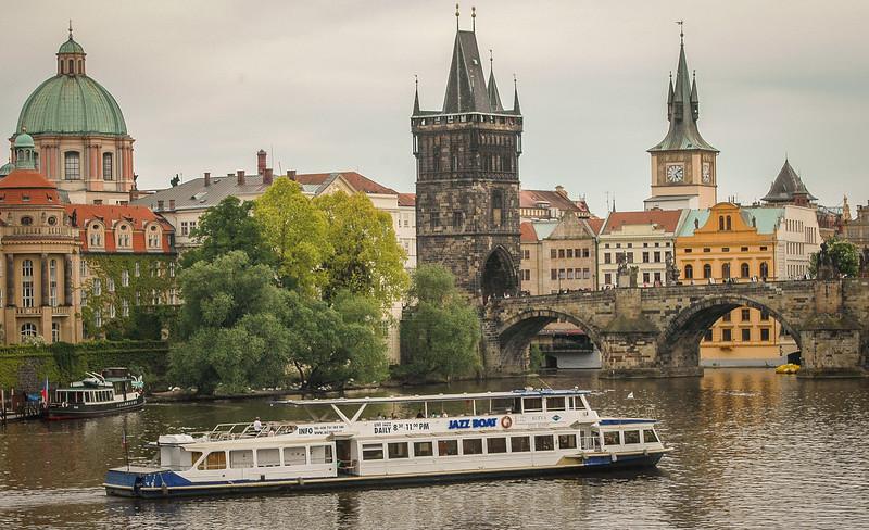Prague: Vlatava River, Charles Bridge & Old Town