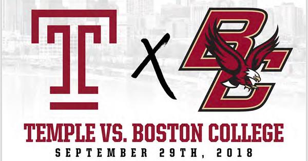 Temple vs. Boston College Temporary Gallery