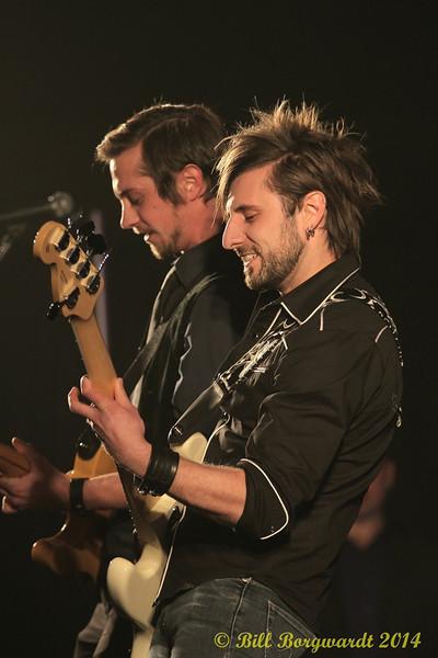 Joel Fraser & Ray Banman - Jason Hastie band - 2014 ACMAs