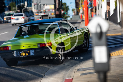 Cars in Hollywood and Santa Monica