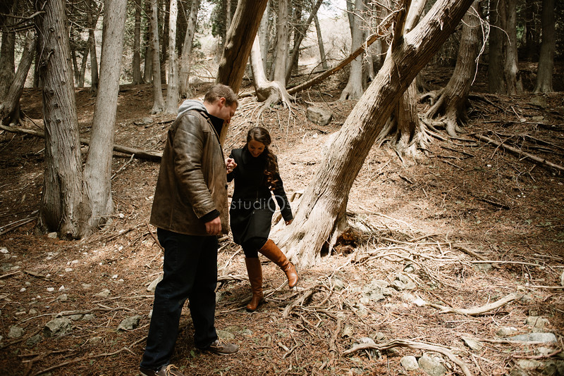 Shaina & John | Engagement | Mackinac Island