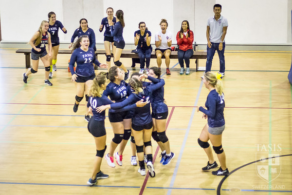 TASIS Girls Varsity Volleyball vs. ASM - Family Weekend