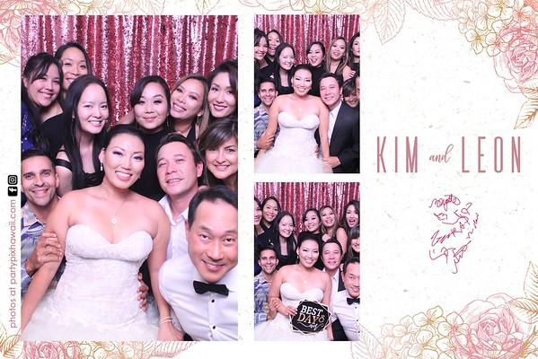 Leon & Kim's Wedding (Magic Mirror Photo Booth)