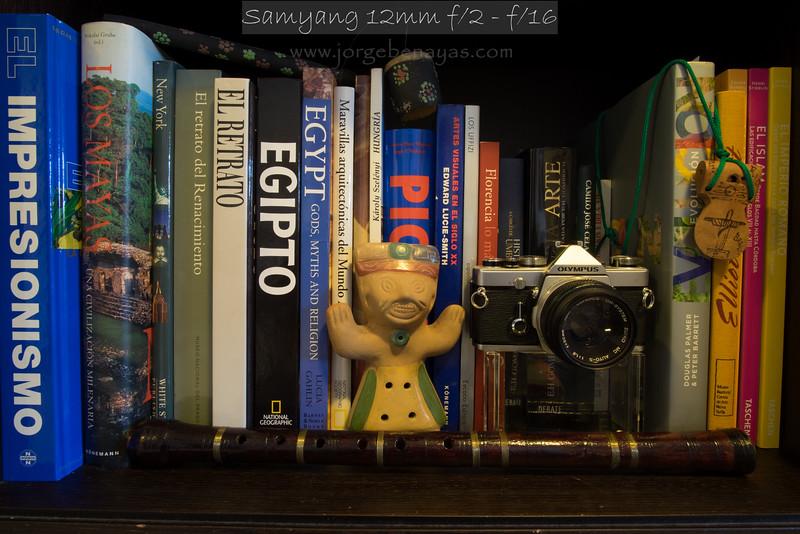 Samyang 12mm f/2 - f/16