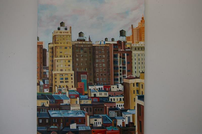 New York Rooftops #2 SOLD!