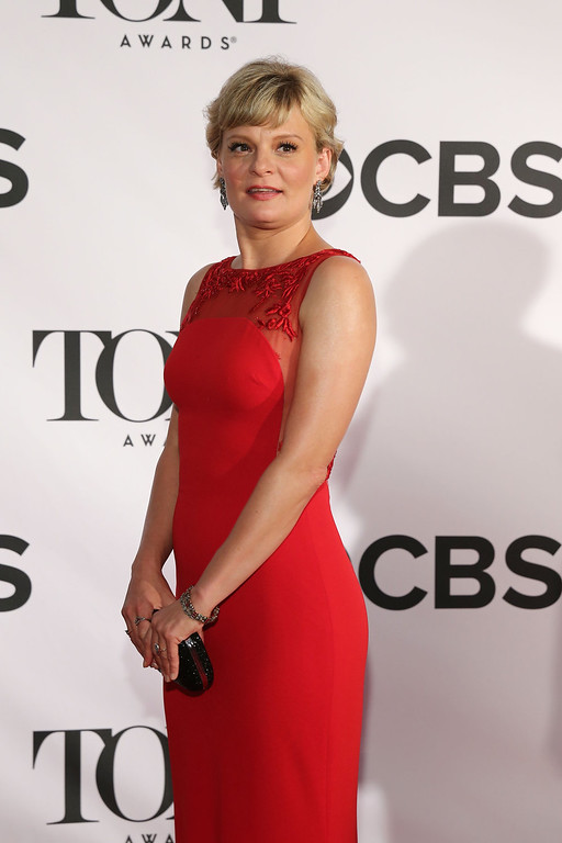 . Actress Martha Plimpton attends The 67th Annual Tony Awards  at Radio City Music Hall on June 9, 2013 in New York City.  (Photo by Neilson Barnard/Getty Images)