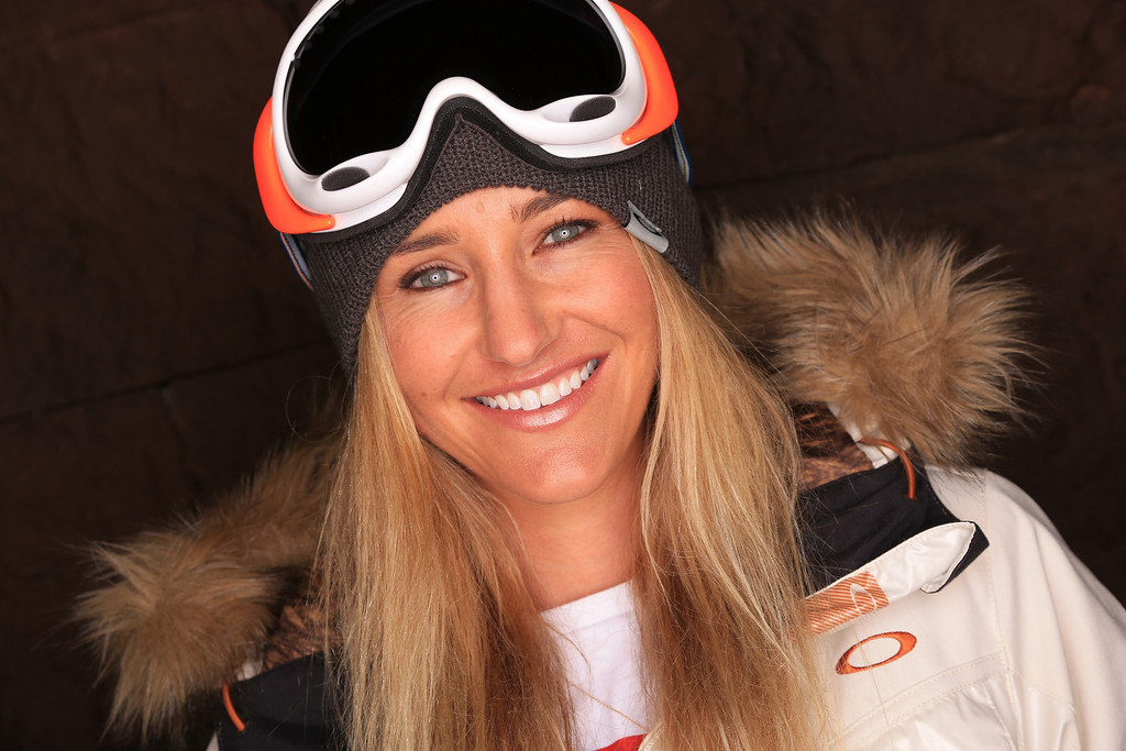 . Snowboarder Gretchen Bleiler poses for a portrait during the USOC Media Summit ahead of the Sochi 2014 Winter Olympics on October 2, 2013 in Park City, Utah.  (Photo by Doug Pensinger/Getty Images)