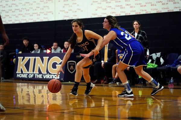 Vikings Varsity Girls Basketball Feb. 2020