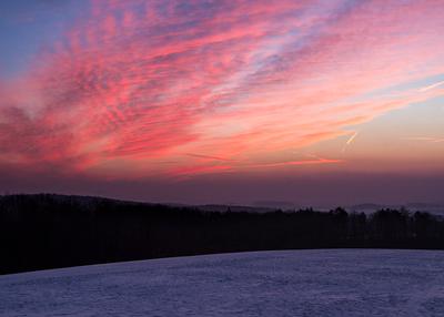 Sunrise -9,5 Grad - 7:45