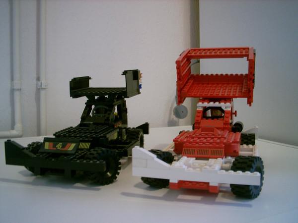 Voorbeeld LEGO stockcars
